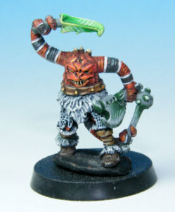Zygor Snake Arms Front